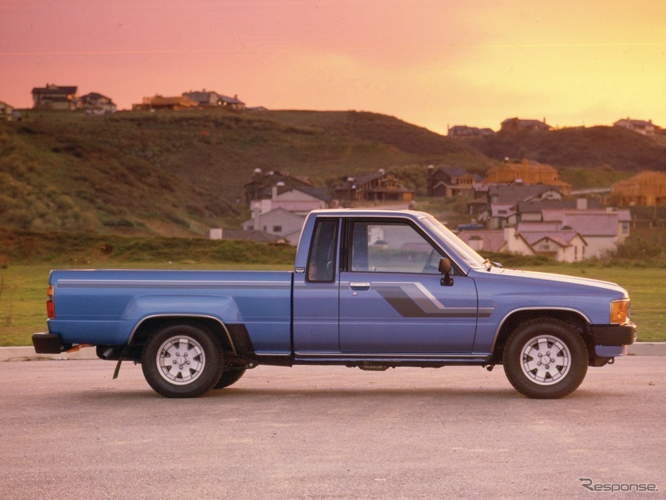 トヨタ・ハイラックス5代目(1988年〜)《写真提供 トヨタ自動車》