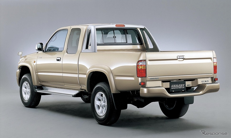 トヨタ・ハイラックス6代目(1997年〜)《写真提供 トヨタ自動車》