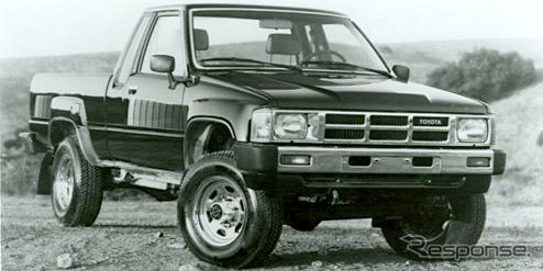 北米向けトヨタ・トラック(1985年型)。映画『バック・トゥ・ザ・フューチャー』で、主人公が憧れる車。写真は同型車。《photo by Toyota》