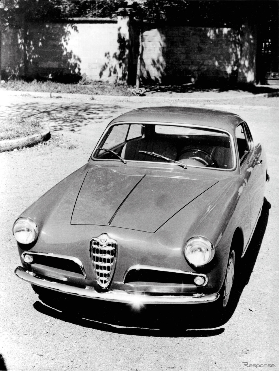 1954年 ジュリエッタ・スプリント《photo by Alfa Romeo》