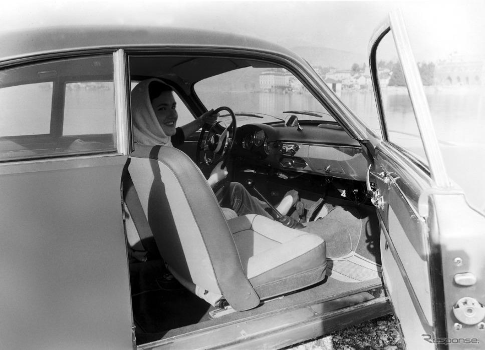 1957年(1956年?) ジュリエッタ・スプリント《photo by Alfa Romeo》