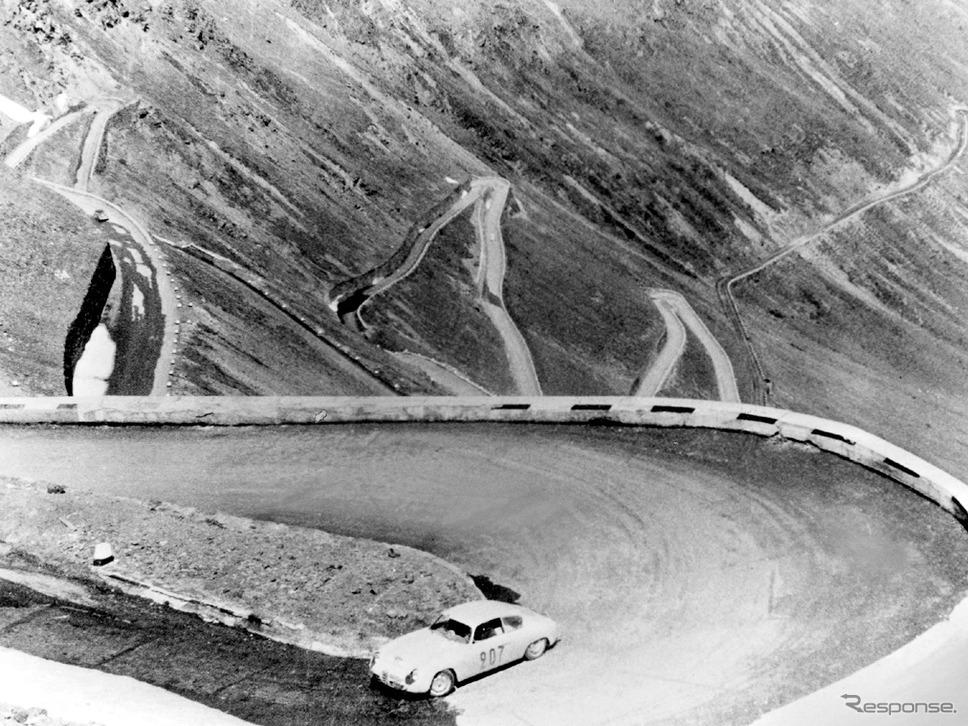 1958年 ジュリエッタ・スプリント・ヴェローチェ(コッパデレアルピ)《photo by Alfa Romeo》