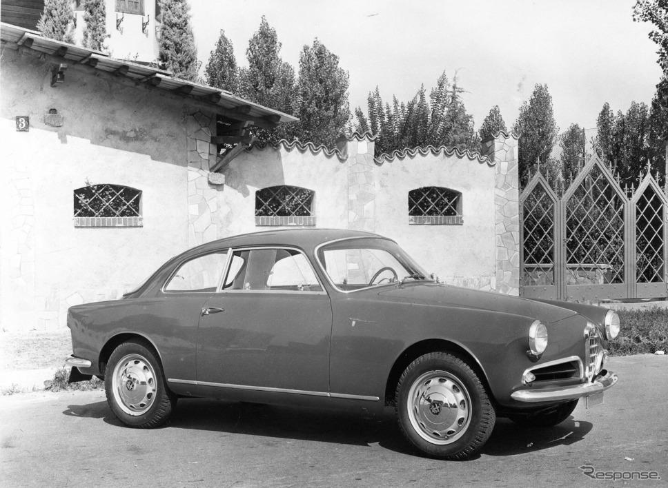 1959年? ジュリエッタ・スプリント・ヴェローチェ最初期型《photo by Alfa Romeo》