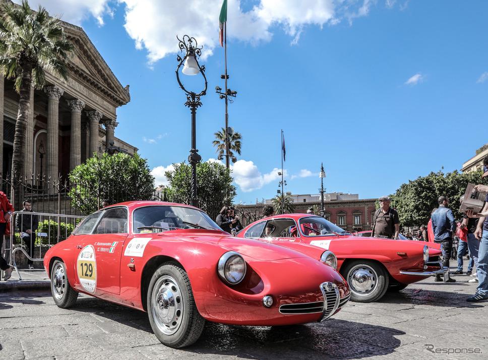 写真は1960年式 ジュリエッタSZ《photo by Alfa Romeo》