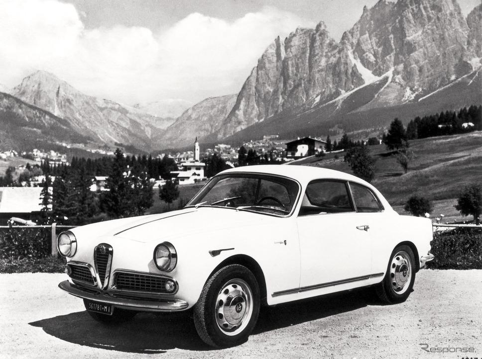 1961年 ジュリエッタ・スプリント《photo by Alfa Romeo》