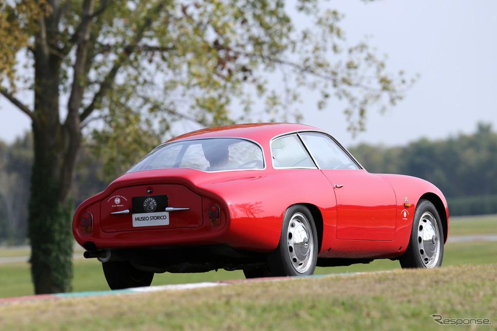 1961年 ジュリエッタSZコーダトロンカ《photo by Alfa Romeo》