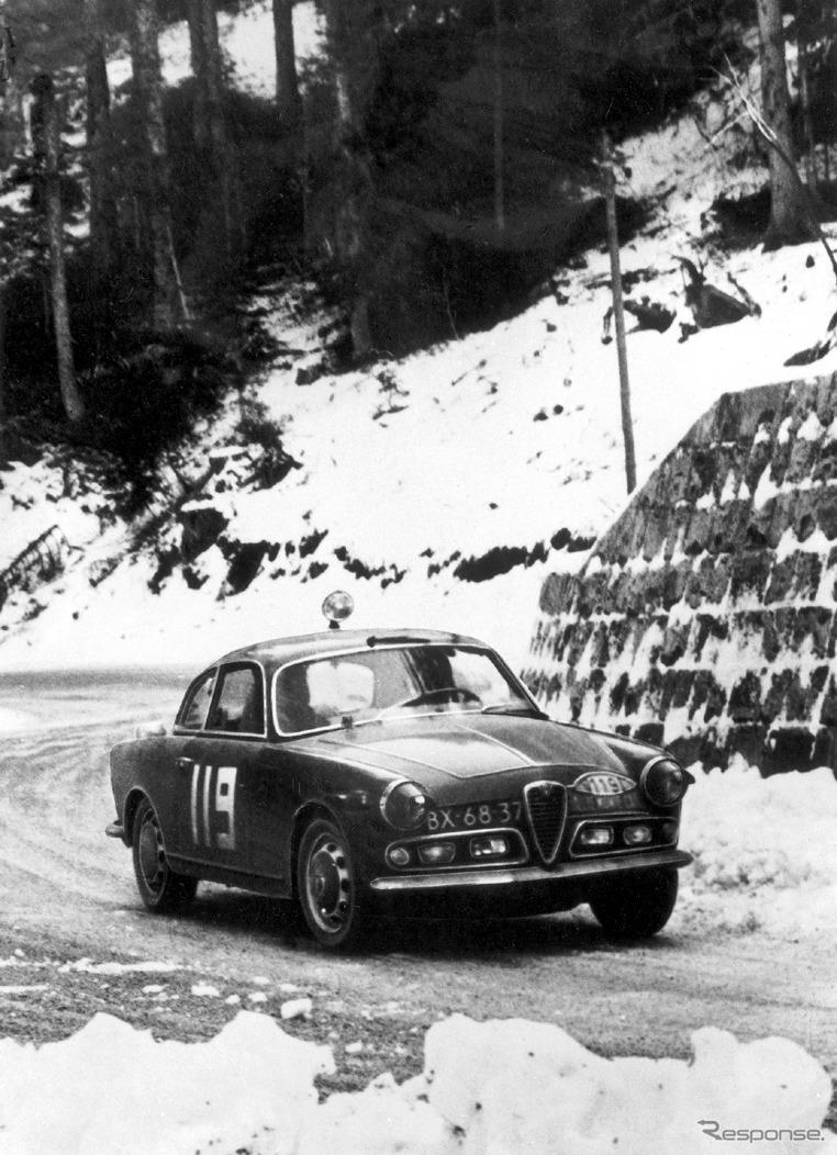 1962年 ジュリエッタ・スプリント《photo by Alfa Romeo》