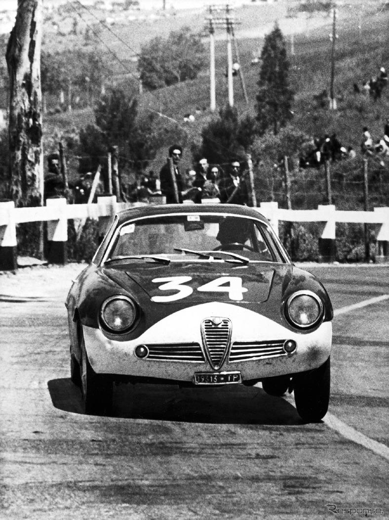1962年 ジュリエッタSZ《photo by Alfa Romeo》
