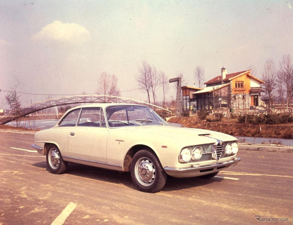 1962年 2600スプリント《photo by Alfa Romeo》
