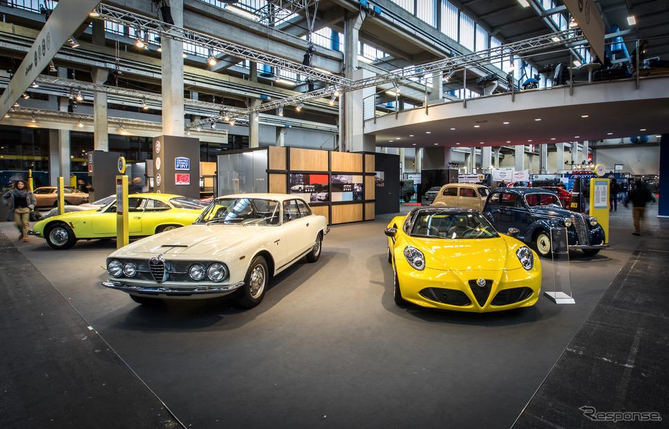 2600スプリント(向かって左)《photo by Alfa Romeo》