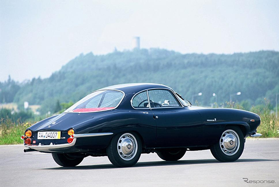 1963年 ジュリア1600スプリント・スペチアーレ《photo by Alfa Romeo》