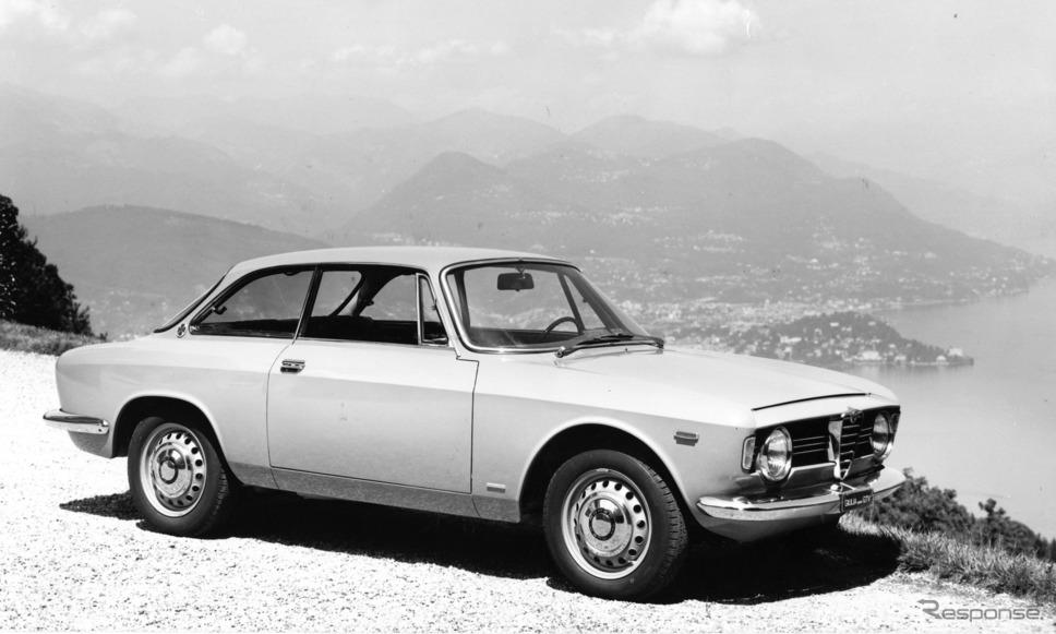 1966年 ジュリア・スプリントGTV《photo by Alfa Romeo》