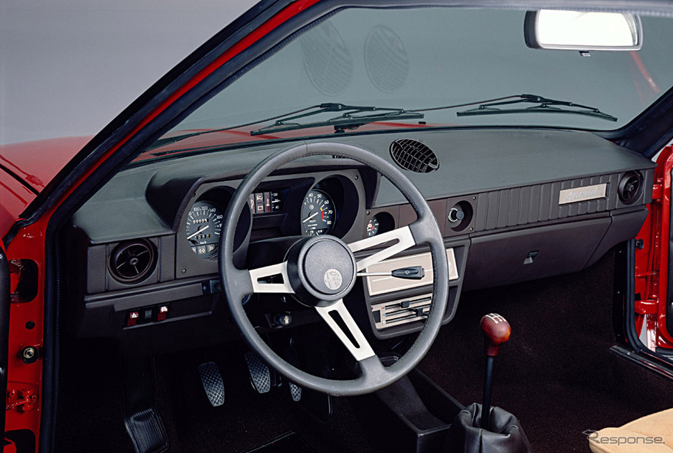 1979年 アルファスッド・スプリント1.5ヴェローチェ《photo by Alfa Romeo》