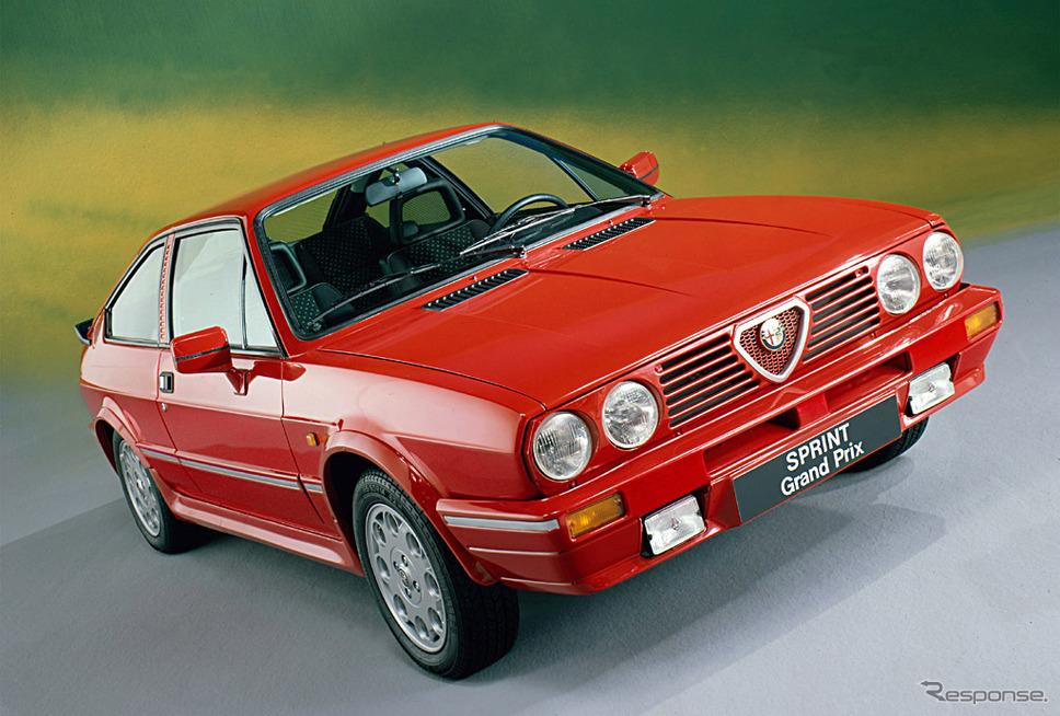 1983年 アルファスッド・スプリント・グランプリ《photo by Alfa Romeo》