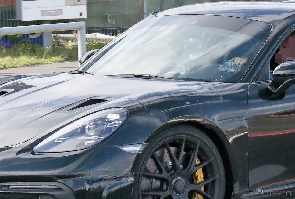 ポルシェ 781ケイマン GT4 RS プロトタイプ(スクープ写真)《APOLLO NEWS SERVICE》