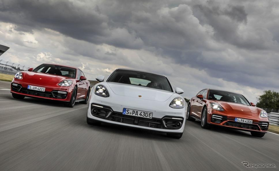 ポルシェ・パナメーラ 改良新型《photo by Porsche》