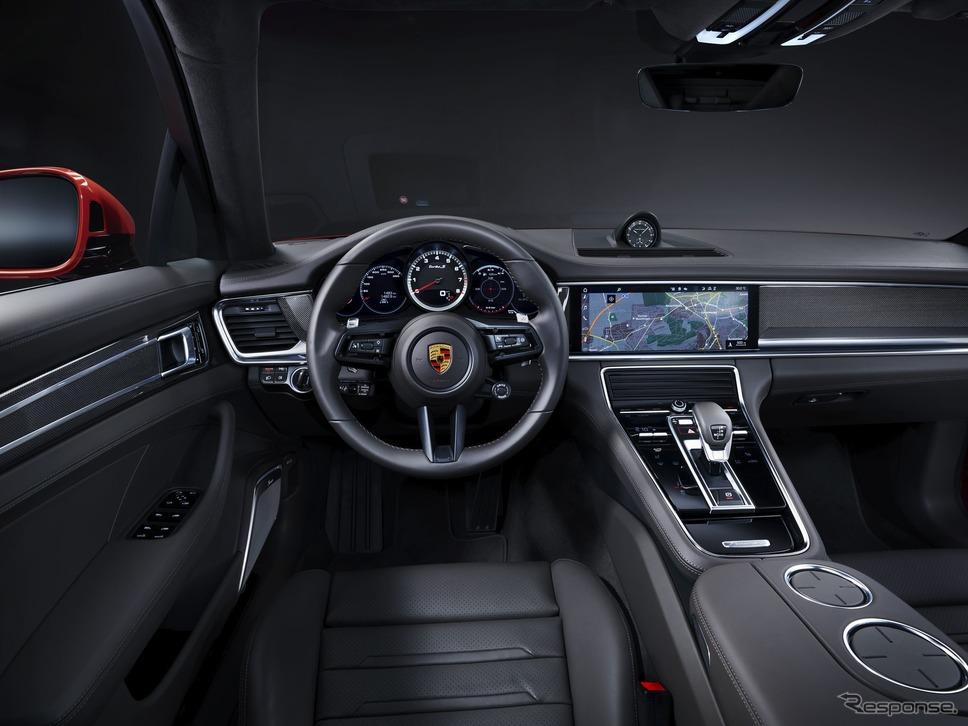 ポルシェ・パナメーラ 改良新型のターボS《photo by Porsche》