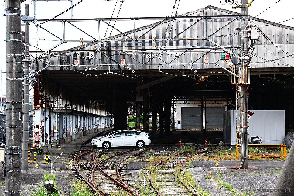 2012年当時の所沢駅。元所沢工場の建物や線路がまだあったころ《写真撮影 大野雅人(GazinAirlines)》
