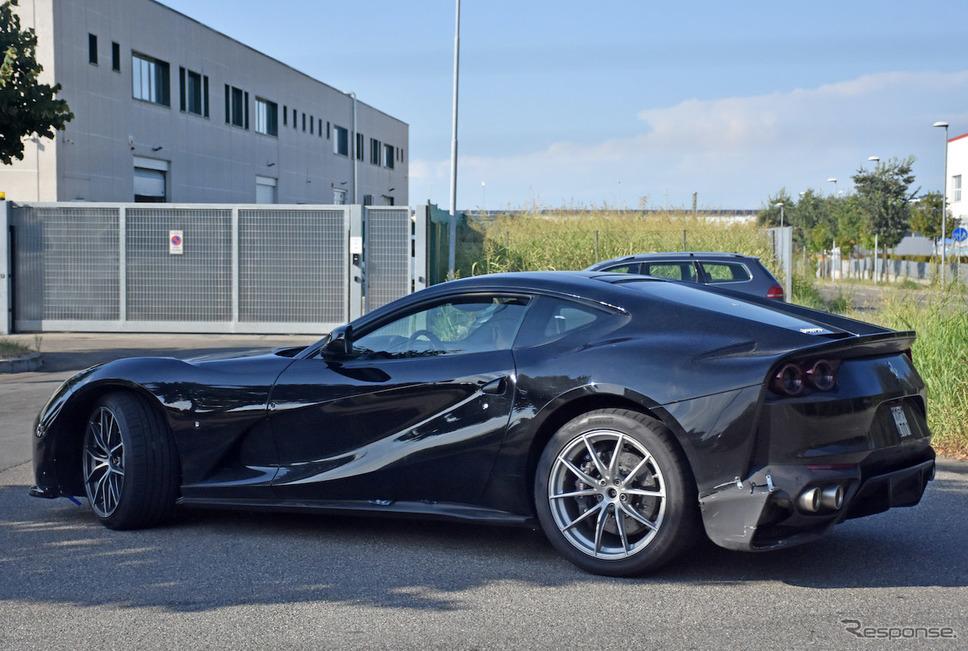 フェラーリ 812 GTO プロトタイプ(スクープ写真)《APOLLO NEWS SERVICE》