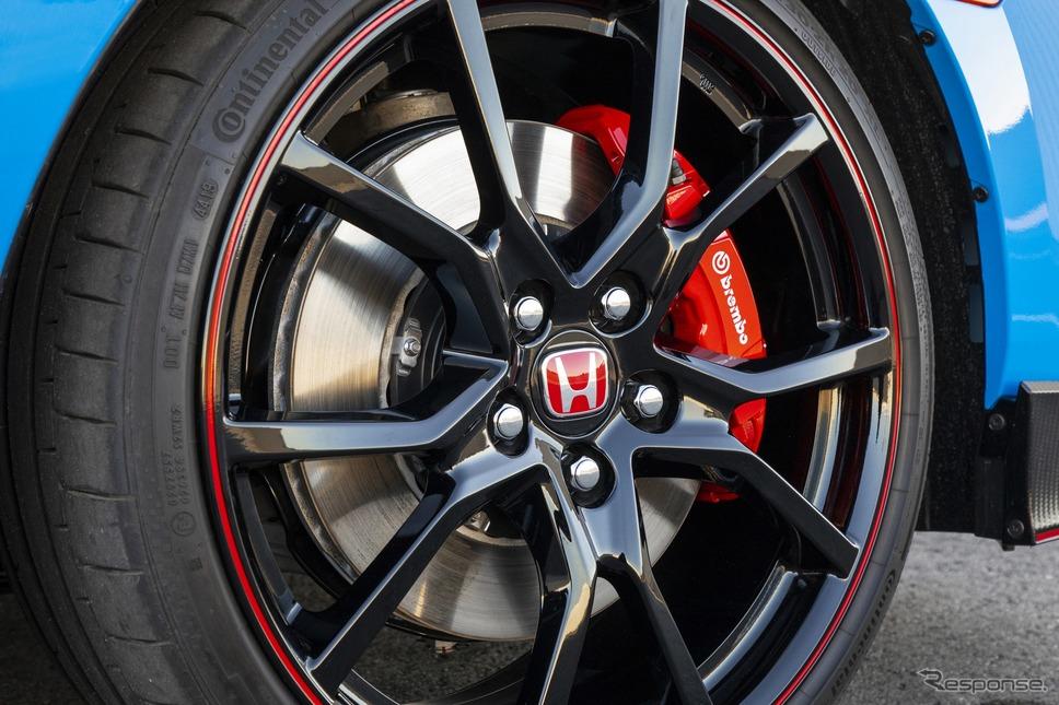 ホンダ・シビック・タイプR 改良新型(米国仕様)《photo by Honda》