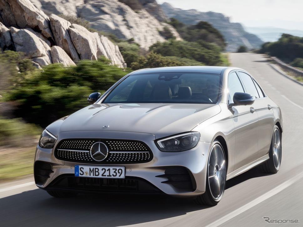 メルセデスベンツ Eクラス 改良新型欧州仕様《photo by Daimler》