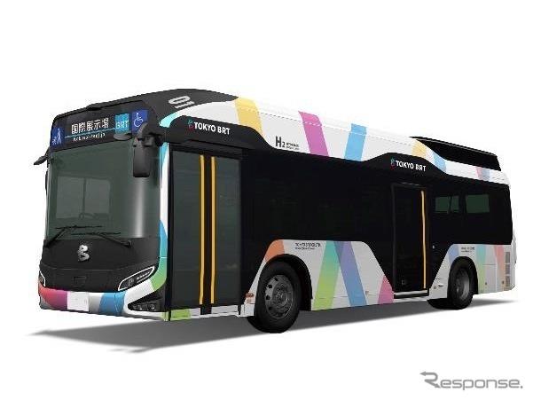 東京BRT使用車両イメージ《写真提供 京成バス》
