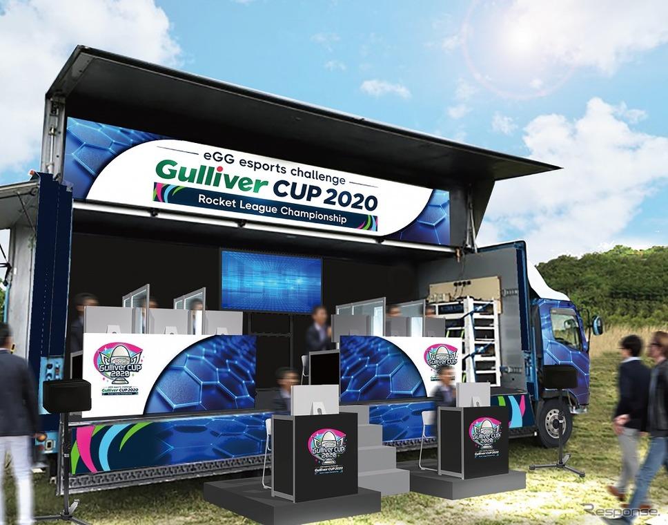 eGG eスポーツチャレンジ「ガリバーカップ 2020」ロケットリーグチャンピオンシップ応援イベント《写真提供 IDOM》