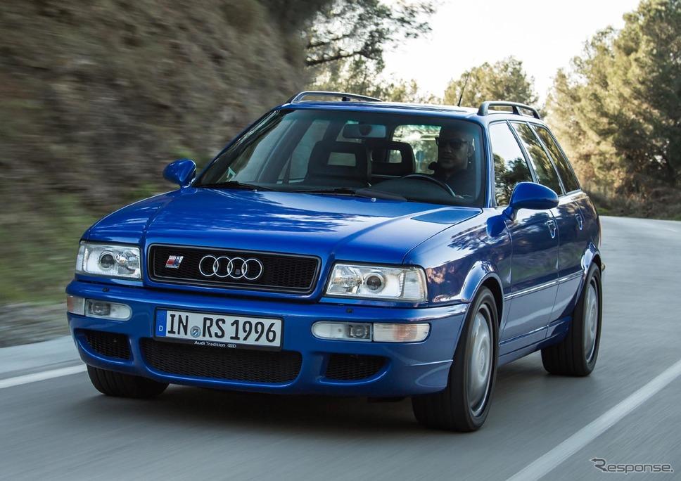 アウディRS2アバント(1994年発表)《photo by Audi》