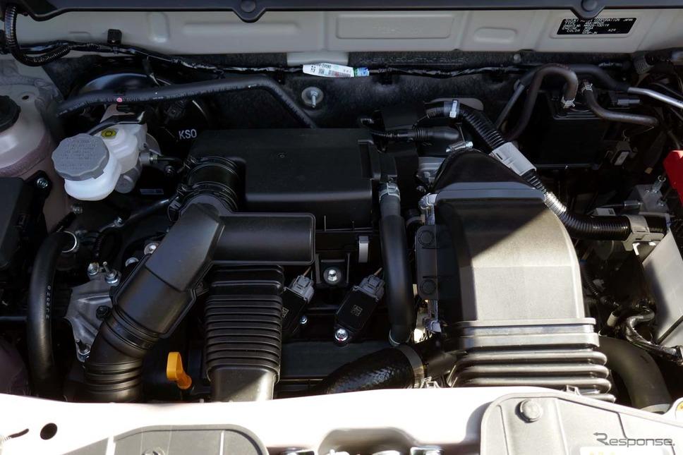 エンジンはR06A型0.66L直3ターボエンジン《写真撮影 会田肇》