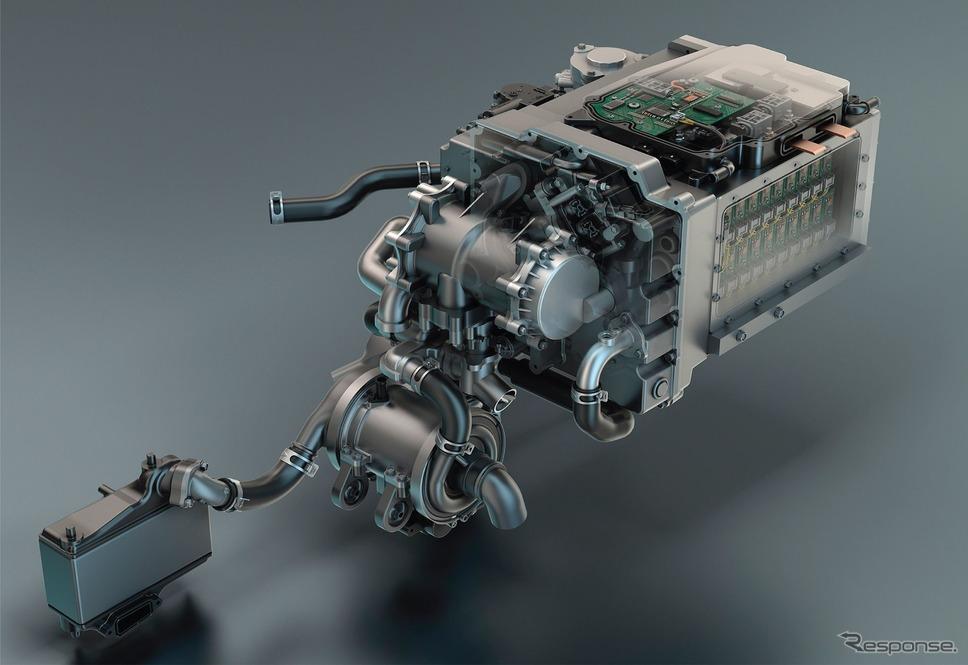 GMの燃料電池システム「ハイドロテック」《photo by GM》