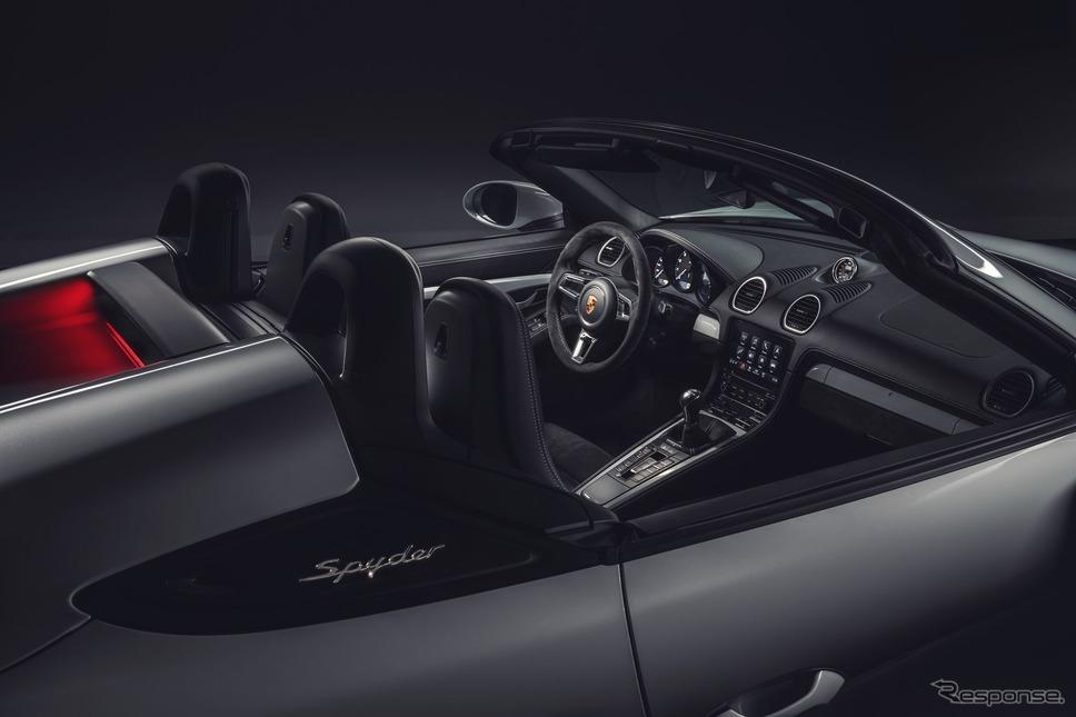 ポルシェ 718 スパイダー《photo by Porsche》