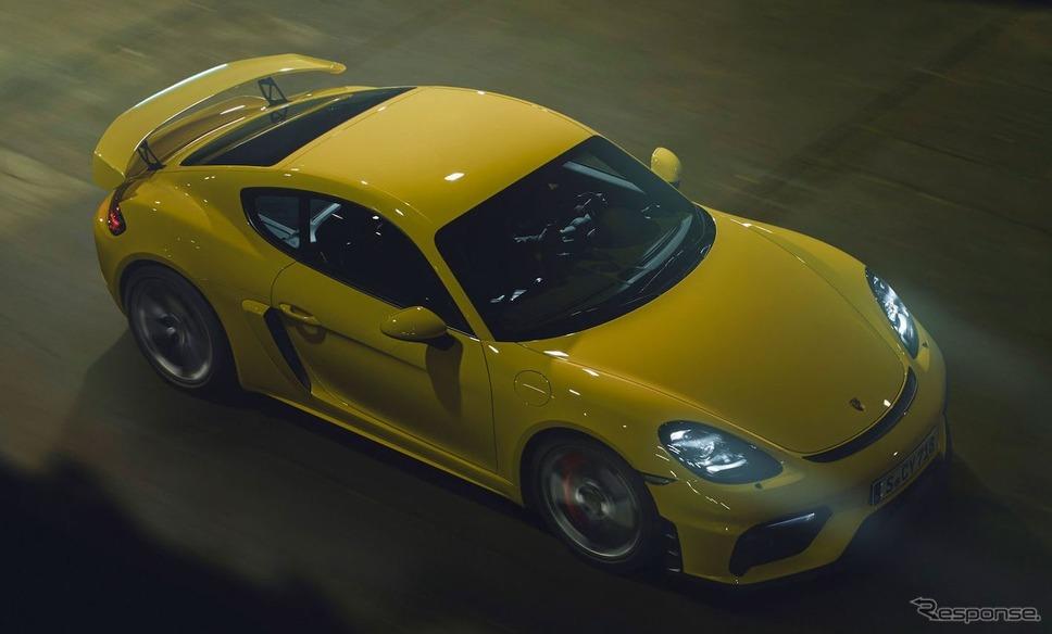 ポルシェ 718 ケイマン GT4《photo by Porsche》