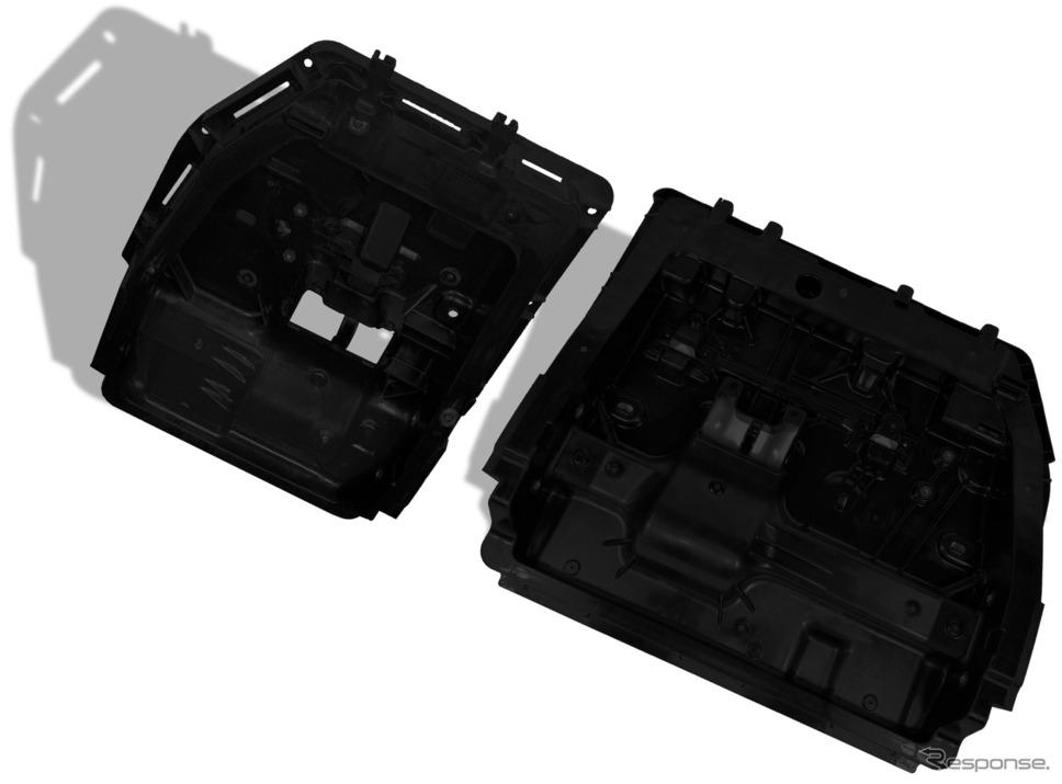 シエナに軽量な3列フリースタンディングシートバックが初採用《写真提供 BASF》