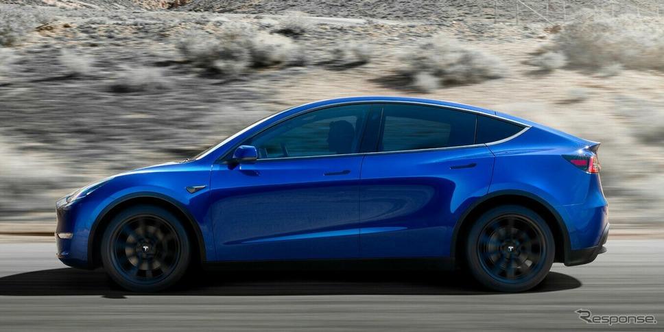 テスラ・モデルY《photo by Tesla》