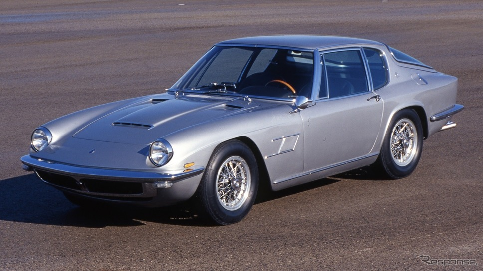マセラティ・ミストラル(1964年)《photo by Maserati》