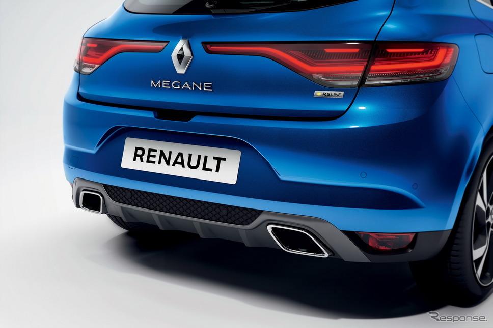 ルノー・メガーヌ 改良新型のR.S.ライン《photo by Renault》