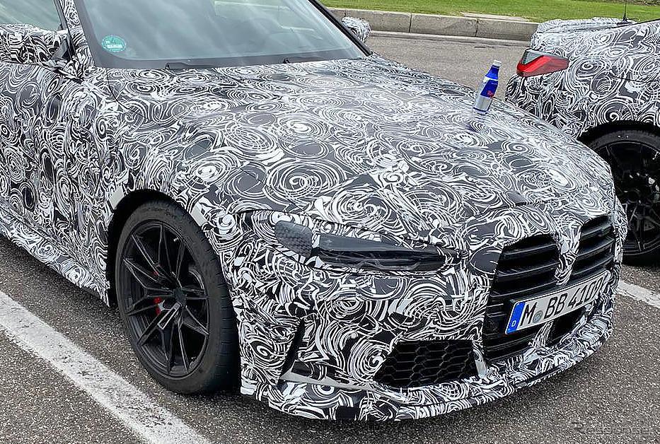 BMW M4 GTS プロトタイプ(スクープ写真)《APOLLO NEWS SERVICE》