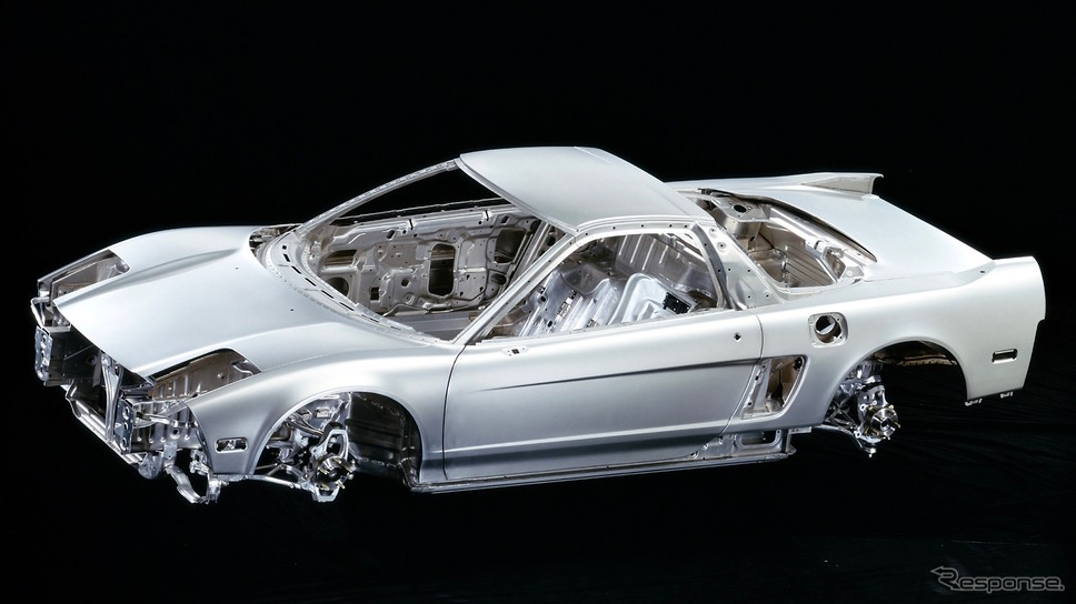 初代NSXのホワイトボディ《写真提供 ホンダ》
