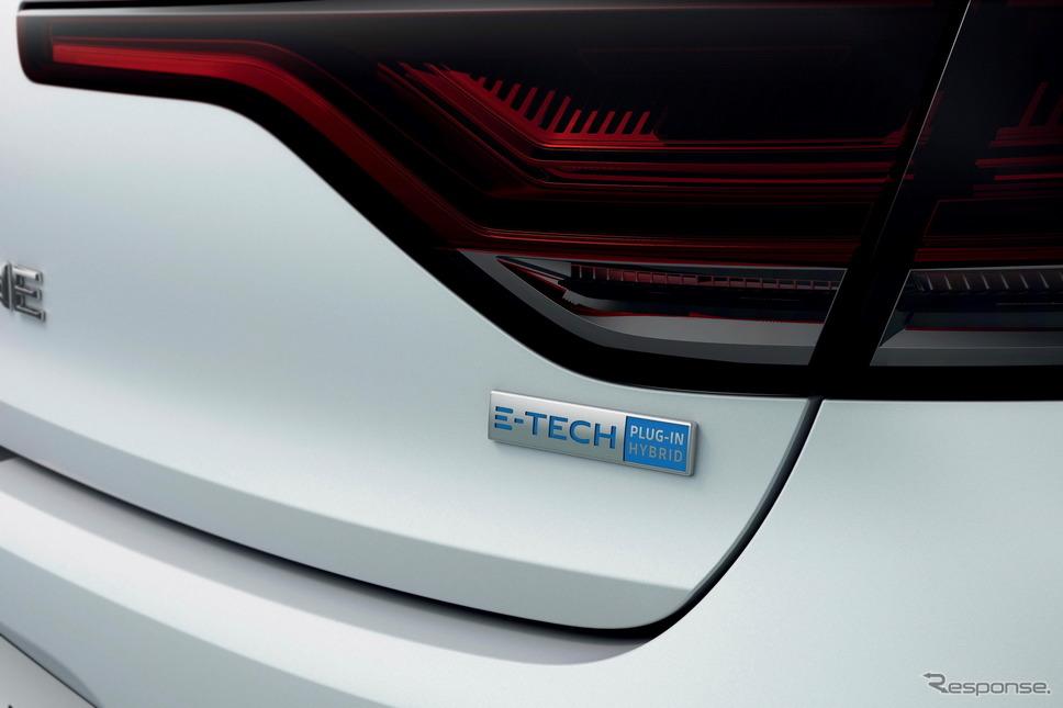 ルノー・メガーヌ 改良新型のPHV「E-TECH」《photo by Renault》