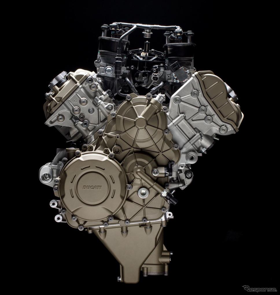 ドゥカティのバルブ駆動システム「デスモドロミック」搭載エンジン《photo by Ducati》