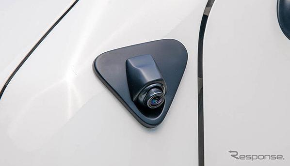 ハイエース専用サイドアンダーカメラキット《写真提供 データシステム》