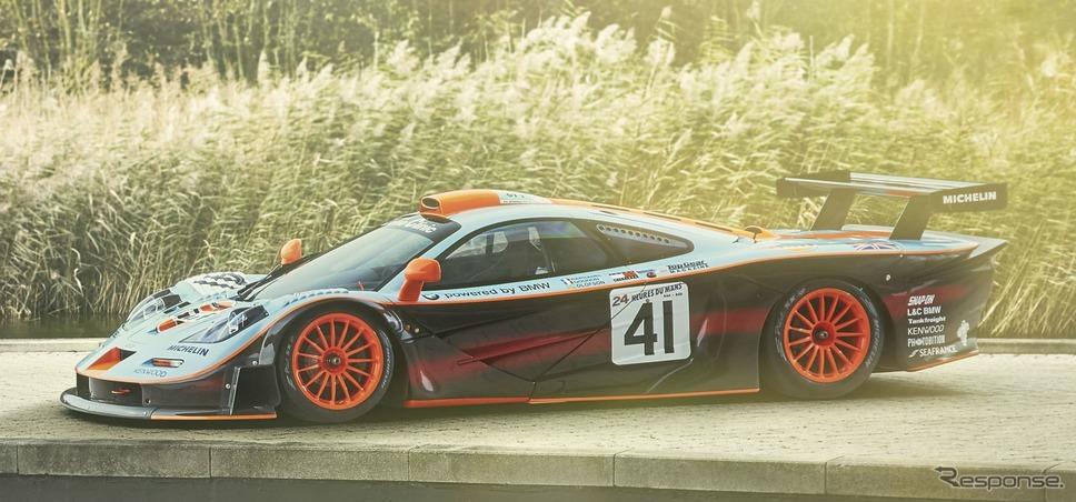 マクラーレン F1 GTR ロングテール(1997年)《photo by McLaren Automotive》