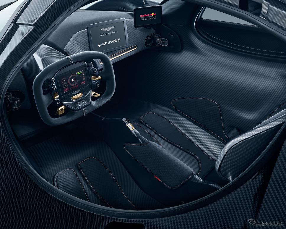 アストンマーティン・ヴァルキリーのプロトタイプ《photo by Aston Martin》