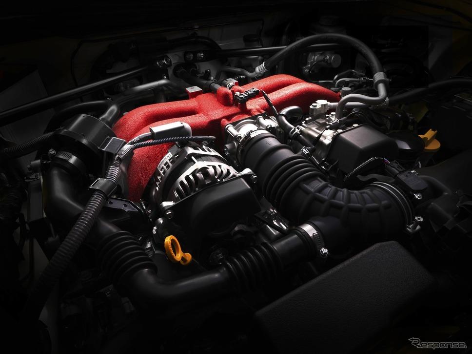 スバルBRZに搭載される水平対向エンジン《写真提供 SUBARU》