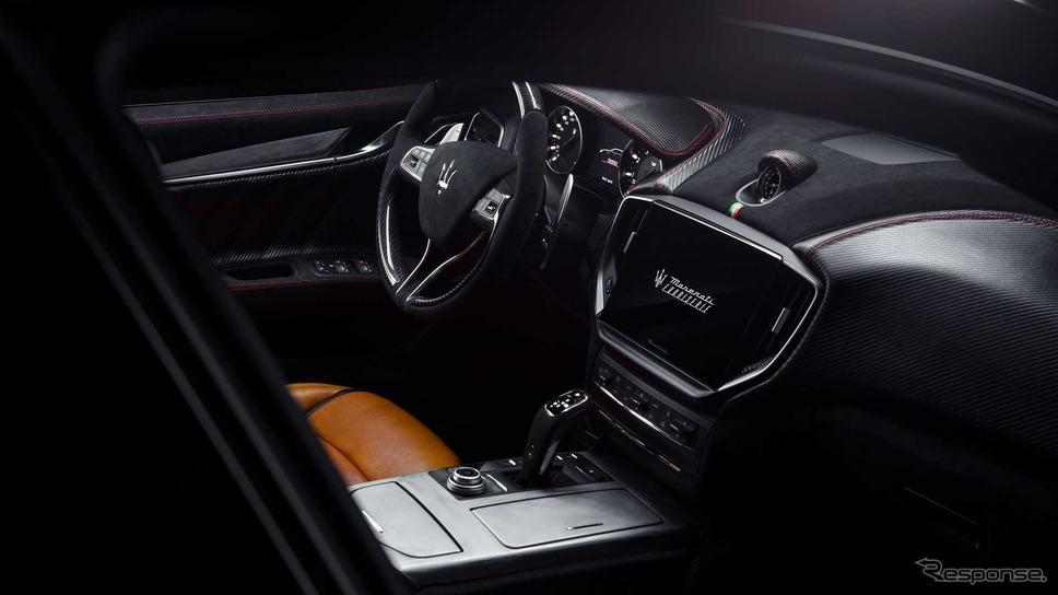 マセラティ・ギブリ・トロフェオ をベースにした「コルセ」のワンオフカスタムモデル《photo by Maserati》