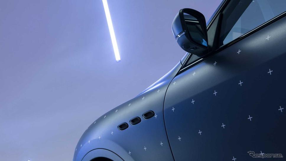 マセラティ・レヴァンテ・トロフェオ をベースにした「フューチュラ」のワンオフカスタムモデル《photo by Maserati》