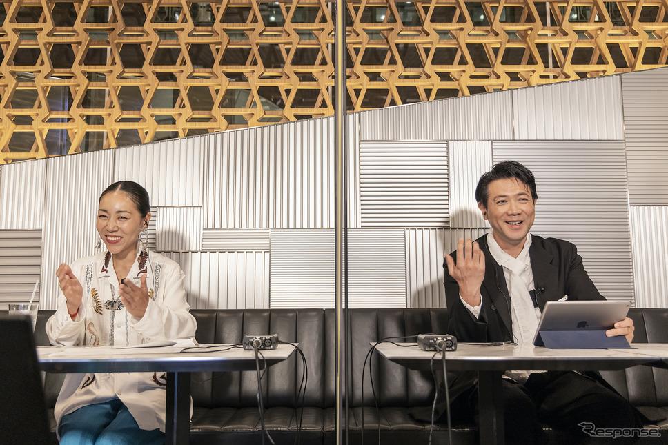 オンライントークイベント『LEXUS OPEN FILM TALK EVENT』《写真提供 レクサス》