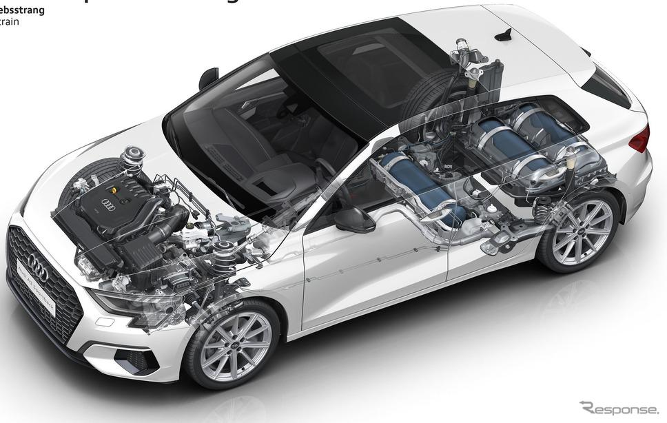 アウディ A3 スポーツバック g-tron 新型《photo by Audi》