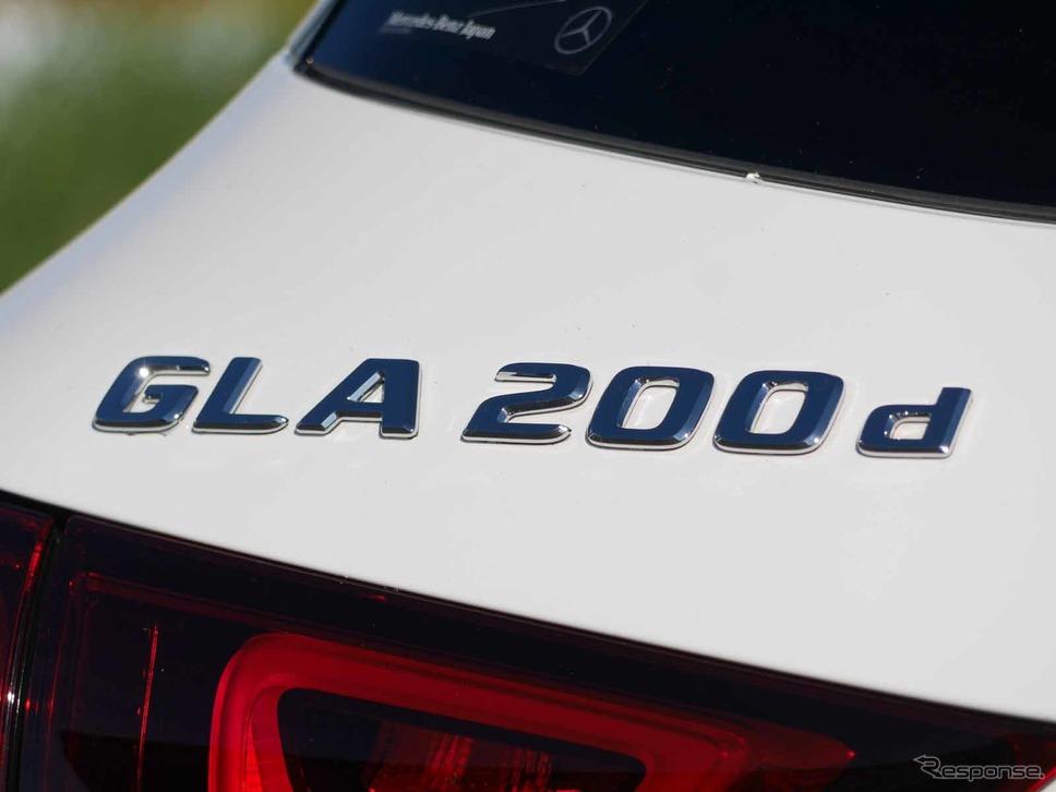 メルセデスベンツ GLA 新型(GLA200d 4MATIC)《写真撮影 中村孝仁》