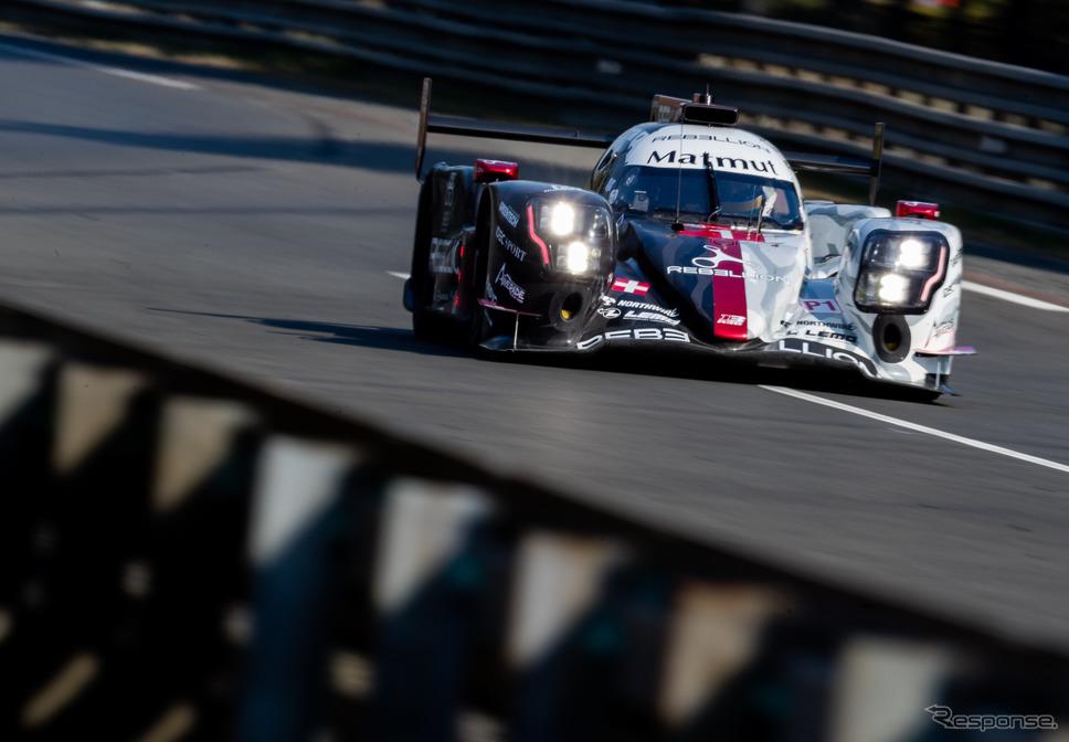 2020年のルマン24時間、LMP1クラス予選2位の#1 レベリオン。《写真提供 FIA-WEC》